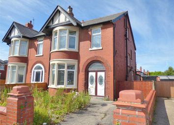 Thumbnail 5 bedroom semi-detached house for sale in Knowle Avenue, Blackpool, Lancashire