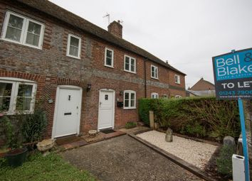 Thumbnail 2 bed terraced house to rent in The Street, Boxgrove, Chichester