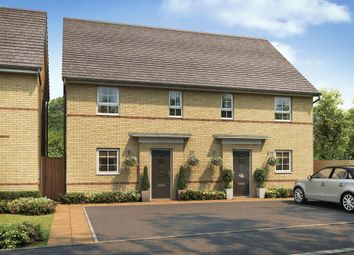 "Thumbnail 3 bed semi-detached house for sale in ""Hampton"" at The Ridge, London Road, Hampton Vale, Peterborough"