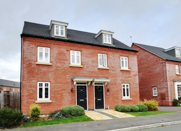 Thumbnail 3 bed semi-detached house for sale in Marmion Close, Market Harborough, Leicestershire