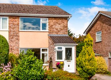 Thumbnail 2 bed semi-detached house for sale in St. Tibba Way, Ryhall, Stamford