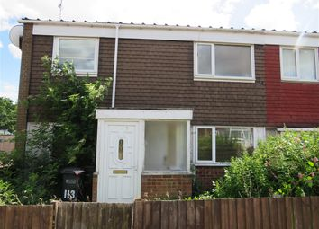 Thumbnail 3 bedroom end terrace house for sale in Camplea Croft, Birmingham