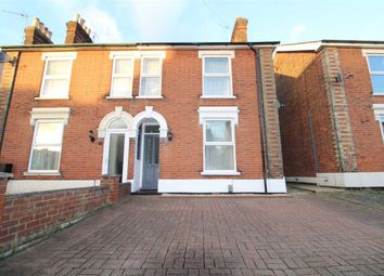 Thumbnail 2 bedroom semi-detached house for sale in Upper Cavendish Street, Ipswich