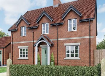 Thumbnail 4 bed detached house for sale in The Hanbury, Moira, Leicestershire