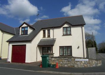 Thumbnail 4 bedroom detached house for sale in Brook Meadows, Sageston, Tenby