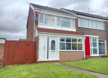 Thumbnail 3 bedroom semi-detached house for sale in Ardav Road, West Bromwich