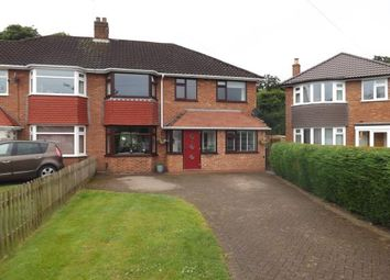 Thumbnail 4 bed semi-detached house for sale in Henley Crescent, Solihull, West Midlands