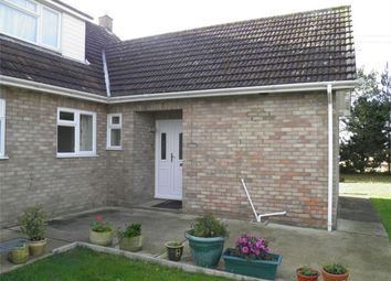 Thumbnail 2 bedroom semi-detached bungalow to rent in Northfield Road East, Market Deeping, Peterborough, Lincolnshire