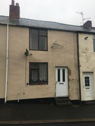 Thumbnail 2 bed terraced house for sale in Front Street, Davy Lamp, Durham