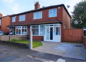 Thumbnail 3 bed semi-detached house for sale in Kildare Road, Manchester