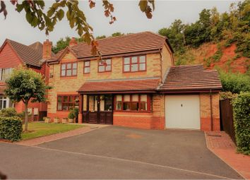 Thumbnail 4 bed detached house for sale in Hellier Drive, Wombourne