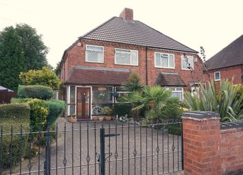 Thumbnail 3 bed semi-detached house for sale in Cranmore Road, Solihull