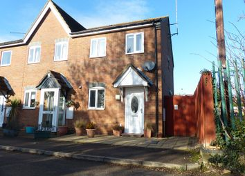 Thumbnail 2 bedroom end terrace house for sale in Beech Lane, Eye, Peterborough, Cambridgeshire.