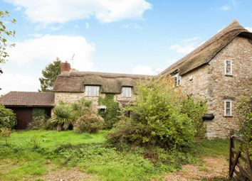 Thumbnail 3 bed detached house for sale in Wootton Fitzpaine, Bridport