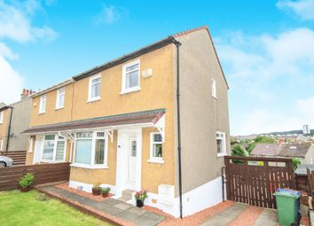 Thumbnail 2 bed semi-detached house for sale in Rodil Avenue, Simshill, Glasgow