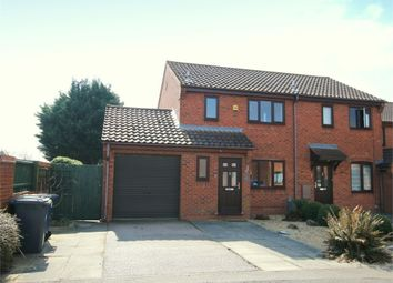 Thumbnail 3 bed end terrace house for sale in Swift Close, St. Neots