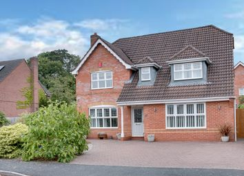 Thumbnail 4 bed detached house for sale in Blockley Close, Webheath, Redditch