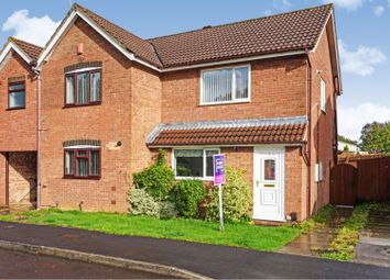 Thumbnail 2 bed semi-detached house for sale in Wedgwood Close, Whitchurch