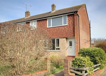Thumbnail 2 bedroom end terrace house for sale in Russell Close, Broadwater, Worthing, West Sussex