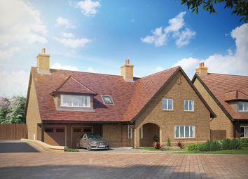 "Thumbnail 5 bed property for sale in ""The Claremont"" at St Margaret's Park, Merry Hill Road, Bushey"
