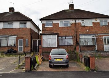 Thumbnail 3 bed semi-detached house for sale in Bryngarth Crescent, Humberstone, Leicester