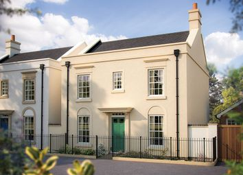 "Thumbnail 4 bedroom detached house for sale in ""The Bovisand"" at Haye Road, Sherford, Plymouth"