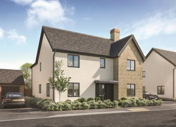 "Thumbnail 4 bed property for sale in ""The Caldwick"" at The Furlong, Downs Road, Standlake, Witney"