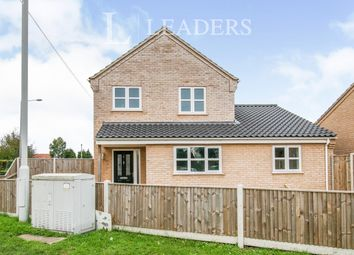 Thumbnail 3 bed detached house to rent in Arches Court, Beccles Road, Bradwell