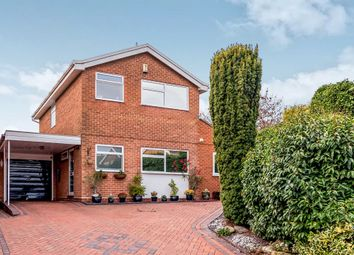 Thumbnail 3 bed detached house for sale in Truro Close, Lichfield