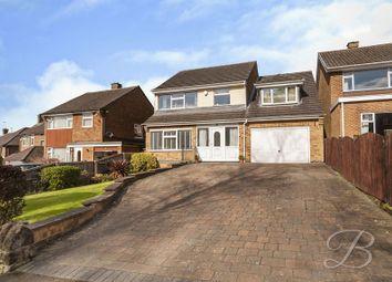 Thumbnail 4 bed detached house for sale in Summercourt Drive, Ravenshead, Nottingham
