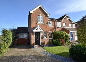 Thumbnail 3 bed end terrace house for sale in Old Bourne Way, Stevenage, Herts