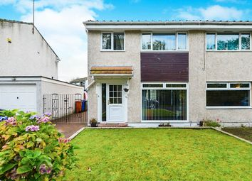 Thumbnail 3 bed semi-detached house for sale in Westfields, Bishopbriggs, Glasgow