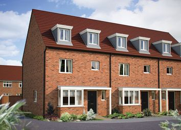 "Thumbnail 4 bedroom town house for sale in ""The Wimborne"" at London Road, Calverton, Milton Keynes"