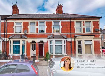 Thumbnail 6 bed terraced house for sale in Talworth Street, Roath, Cardiff