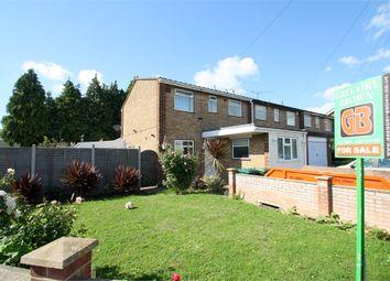 Thumbnail 4 bedroom end terrace house for sale in Hithermoor Road, Staines-Upon-Thames, Surrey
