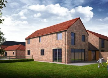 Thumbnail 4 bedroom link-detached house for sale in Gainsborough Road, Middle Rasen, Market Rasen