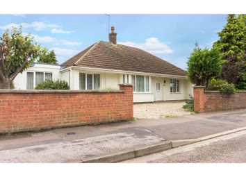 Thumbnail 4 bed detached bungalow for sale in Welland Road, Peterborough