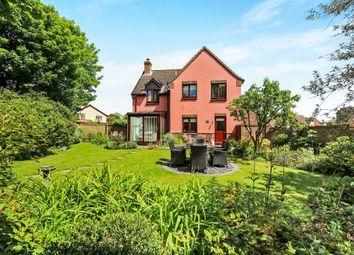 Thumbnail 4 bed detached house for sale in Oak Lane, Hingham, Norwich