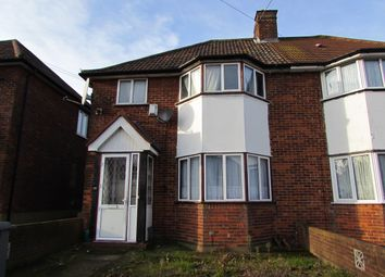 Thumbnail 3 bed semi-detached house for sale in Victoria Avenue, Wembley