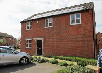 Thumbnail 3 bedroom detached house for sale in Beagle Close, Leicester