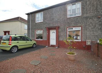 Thumbnail 2 bed flat for sale in Burns Crescent, Irvine, North Ayrshire