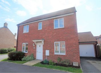 Thumbnail 3 bed detached house for sale in Bluebell Walk, Witham St Hughs