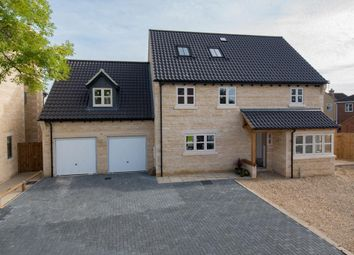Thumbnail 5 bed detached house for sale in Ashfields, Deeping St. James Road, Deeping Gate, Peterborough