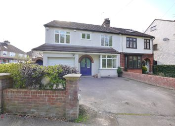 Thumbnail 4 bed property to rent in Hartswood Road, Brentwood