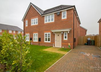 Thumbnail 3 bed semi-detached house for sale in Darwin Row, Ellesmere Port