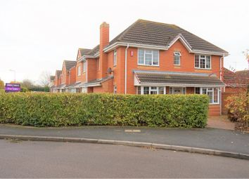 Thumbnail 4 bed detached house for sale in Cordelia Green, Warwick