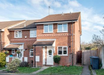 Thumbnail 2 bed end terrace house to rent in Throgmorton Road, Yateley, Hampshire