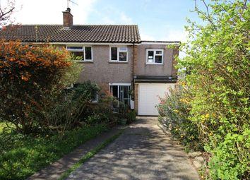 Thumbnail 4 bed semi-detached house for sale in Langham Way, Ivybridge