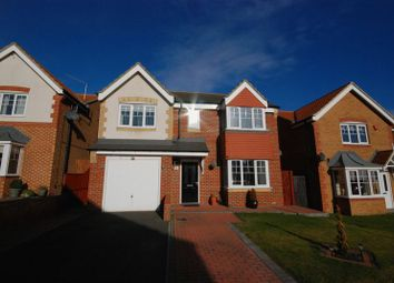 Thumbnail 5 bed detached house for sale in Torrance Close, Ashington