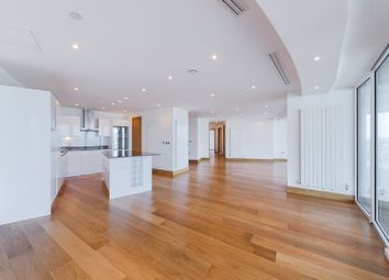 Thumbnail 3 bedroom flat for sale in Arena Tower, Crossharbour Plaza, Canary Wharf